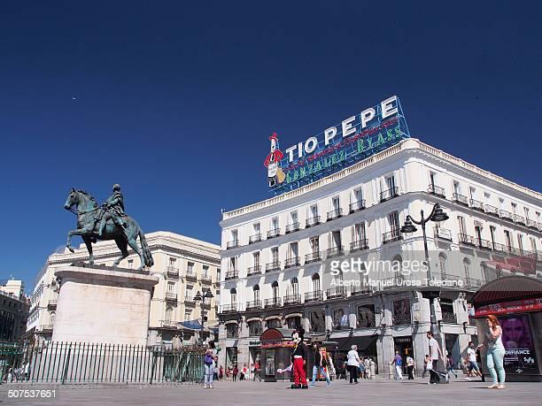 Puerta Del Sol Foto e immagini stock  Getty Images