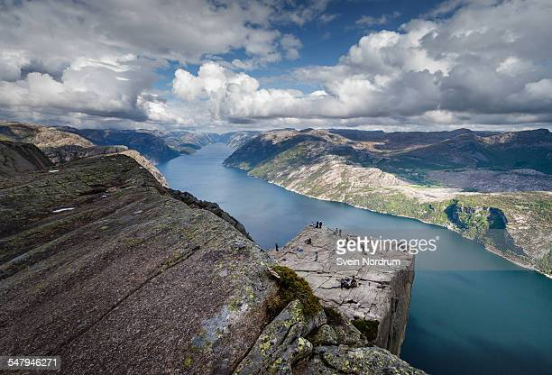 View of Pulpit Rock, Norway
