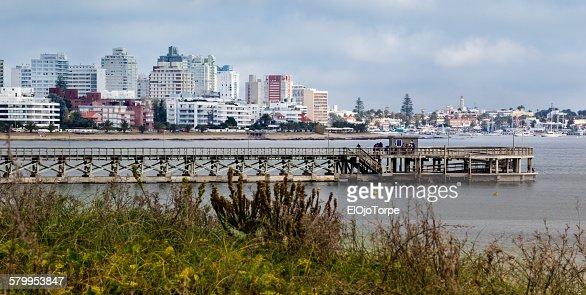 View of Punta del Este, Uruguay