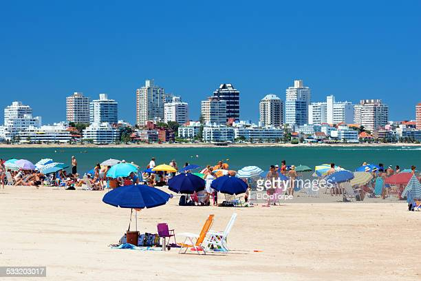 View of Punta del Este's beach