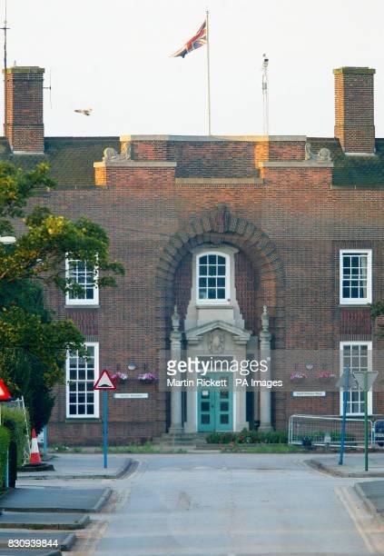 View of Rampton Hospital Woodbeck Nottinghamshire where 28yearold school caretaker Ian Huntley is undergoing psychiatric assessment He was charged...