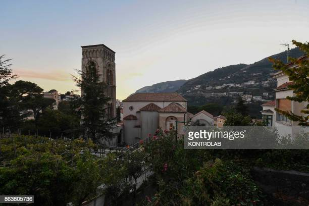 A view of Ravello Italy Ravello is a town and situated above the Amalfi Coast