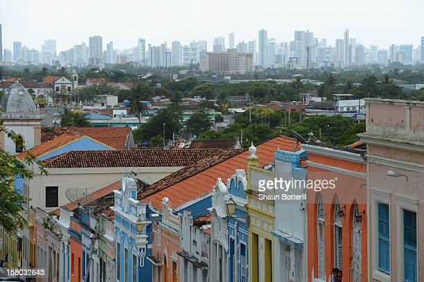 View of Recife on December 9 2012 in Olinda Brazil