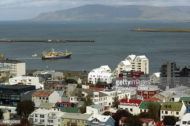 A view of Reykjavik Iceland's largest city and the world's most northern capital Saturday Sept 14 The city has 12000 residents and more than 200000...