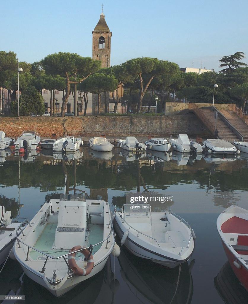 Ansicht von Rimini : Stock-Foto