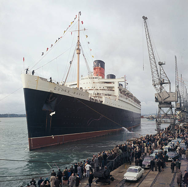 RMS Queen Mary Leaves Southampton Pictures | Getty Images