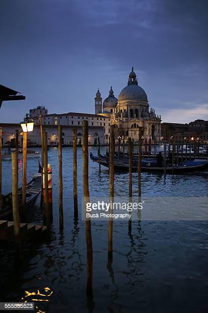 View of Santa Maria della Salute in Venice