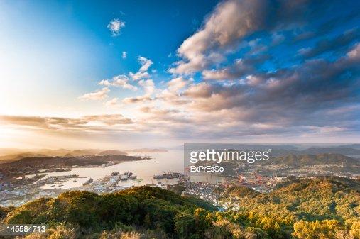 View of Sasebo