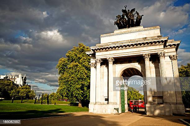 View of scenery in Wellington Arch, London