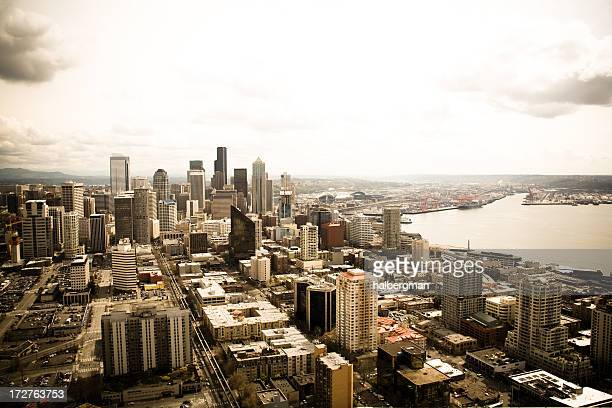Blick auf Seattle, Washington