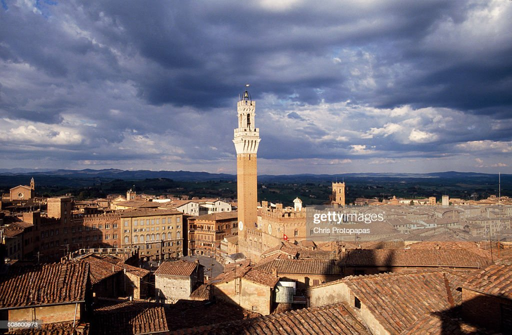 View of Siena : Foto de stock