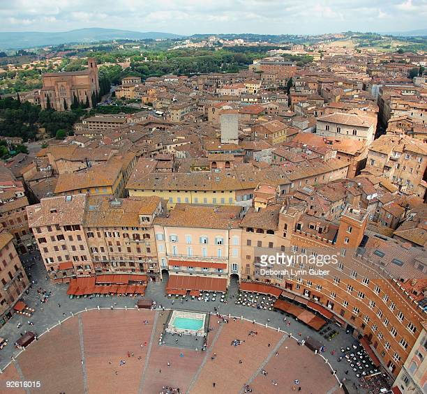 View of Siena's Piazza
