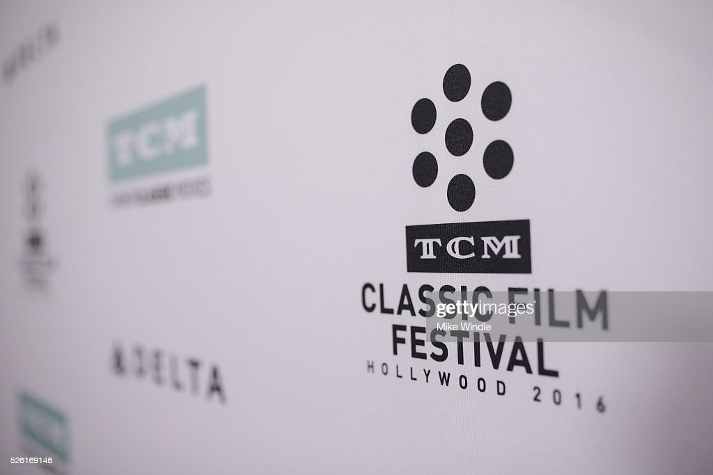 A view of signage at the venue is seen during day 2 of the TCM Classic Film Festival 2016 on April 29, 2016 in Los Angeles, California. 25826_008
