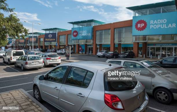 View of Sintra Retail Park one of four commercial centers owned by The Blackstone Group in Lisbon region on September 20 2017 in Sintra Portugal...