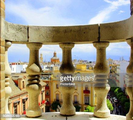 View of Siviglia : Stock Photo