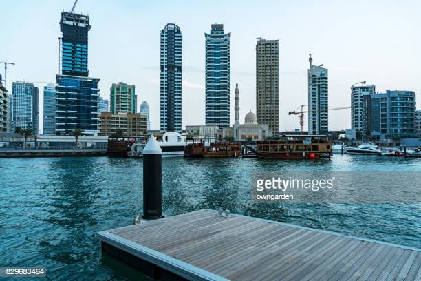 View of skyscrapers in dubai marina