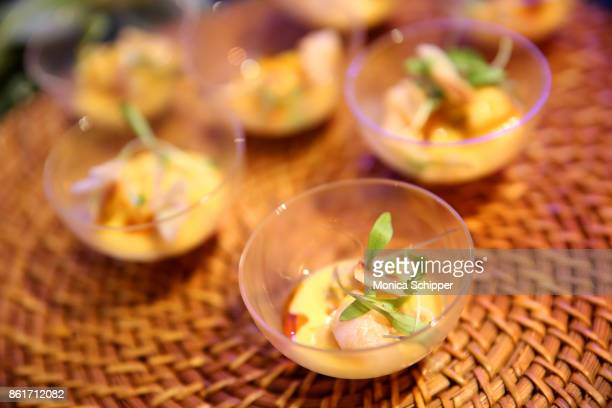 A view of Solomon and Kuff's dish Shrimp Coconut Rundown served during Broadway Tastes presented by Variety at Metropolitan West on October 15 2017...