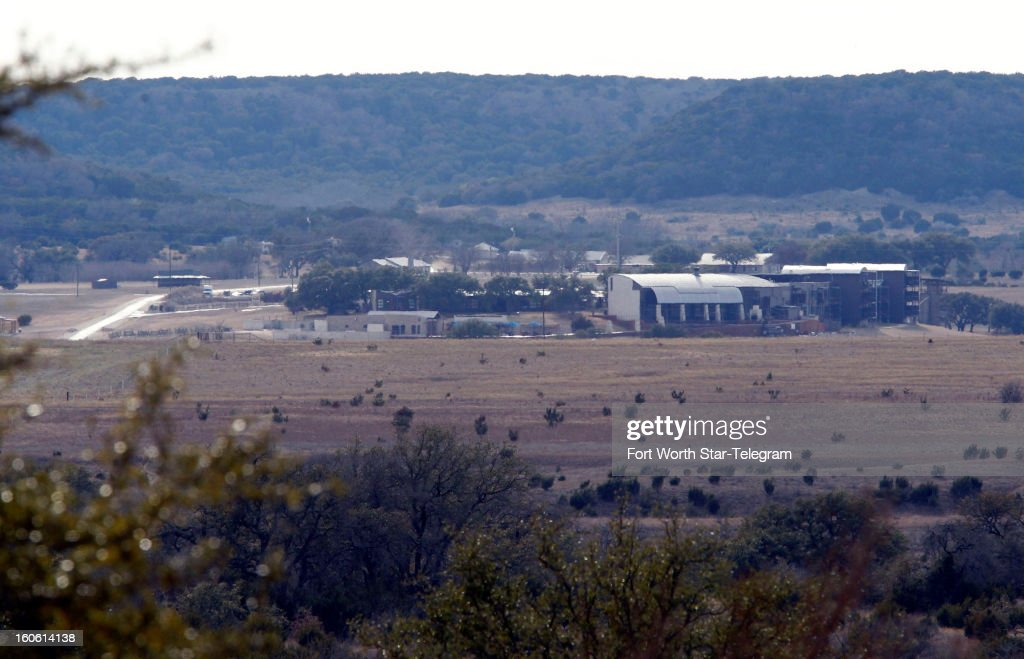 A view of some buildings on the property of Rough Creek Lodge is shown, Sunday, February 3, 2013, in Glen Rose, Texas. Chris Kyle and Chad Littlefield were found murdered at the gun range on the property.