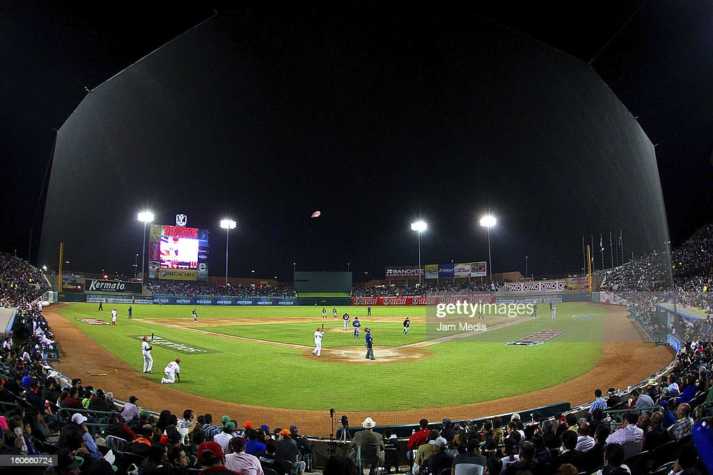 View of Sonora stadium during the Caribbean Series Baseball 2013 in Sonora Stadium on February 2, 2013 in Hermosillo, Mexico.