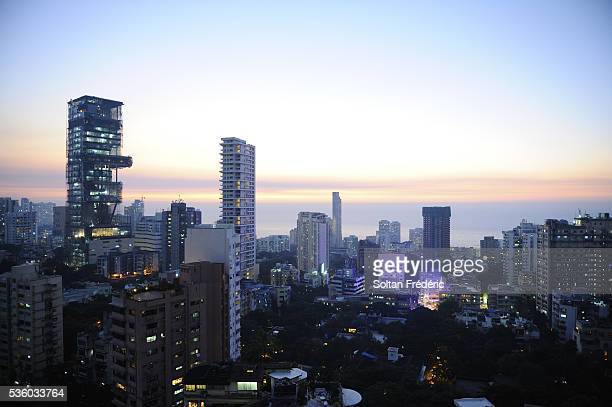 View of South Mumbai