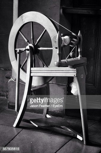 View Of Spinning Wheel