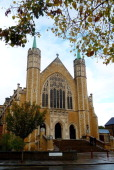 A view of St Benedict's Catholic church in Ealing on October 26 2011 in London England A highlevel Vatican inquiry known as an 'apostolic visitation'...