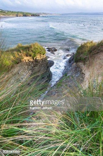 Saint Ives (Cornwall) United Kingdom  city images : View Of St Ives Bay Cornwall England United Kingdom Europe Stock Photo ...