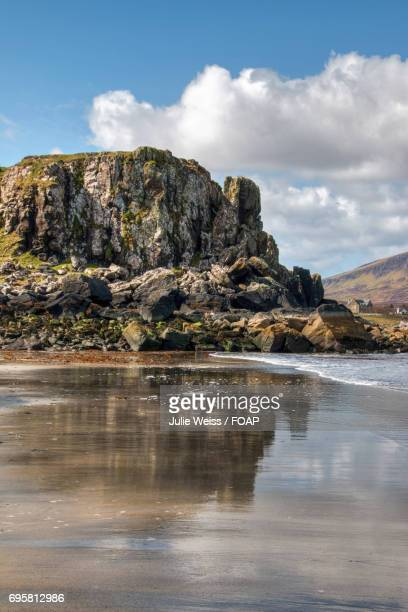 View of staffin beach, Scotland