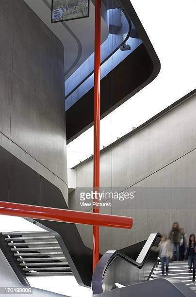 View of stairs MAXXI National Museum of the 21st Century Arts Art Gallery Europe Italy Zaha Hadid Architects