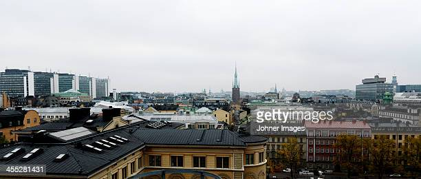 View of Stockholm downtown