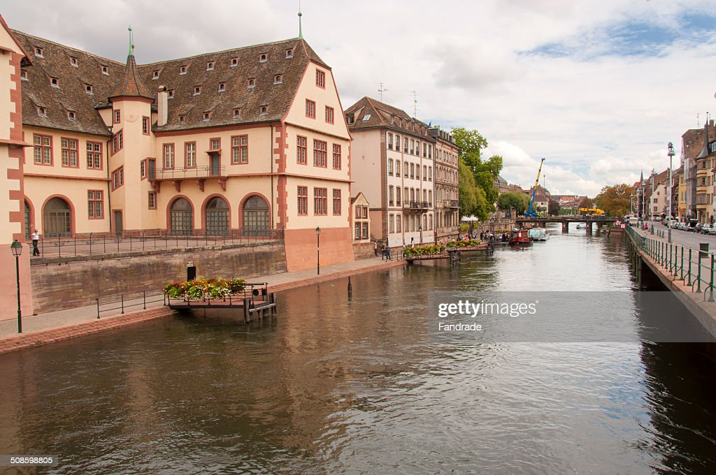 View of Strasbourg Alsace France : Stock Photo