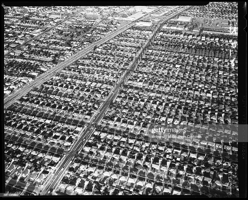 rows of houses pictures getty images