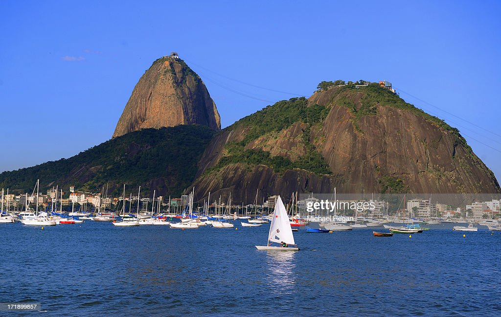 A view of Sugar Loaf mountain on June 29, 2013 in Rio de Janeiro, Brazil. The final of the FIFA Confederations Cup between Brazil and Spain will take place in the city on June 30.