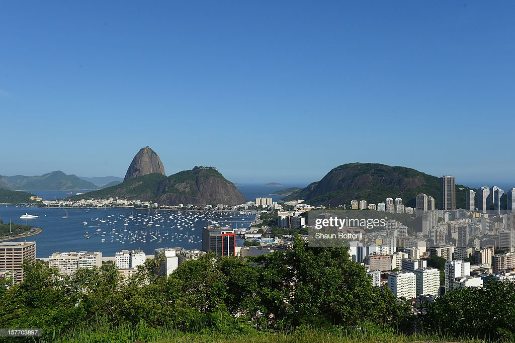 A view of Sugar Loaf on December 5, 2012 in Rio de Janeiro, Brazil.