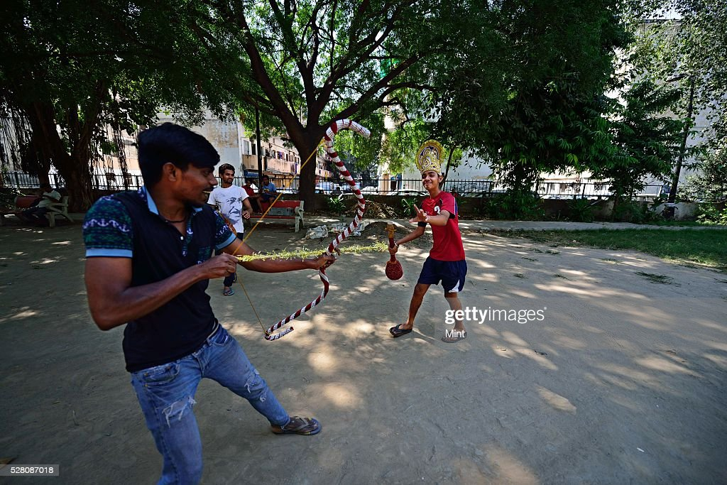 A view of Sujan Singh Park on October 9, 2015 in New Delhi, India.