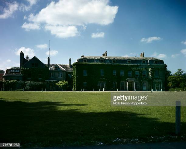 View of Sunninghill Park country house near Ascot and Windsor Great Park pictured circa 1945 The house would be purchased by the Crown Estate...