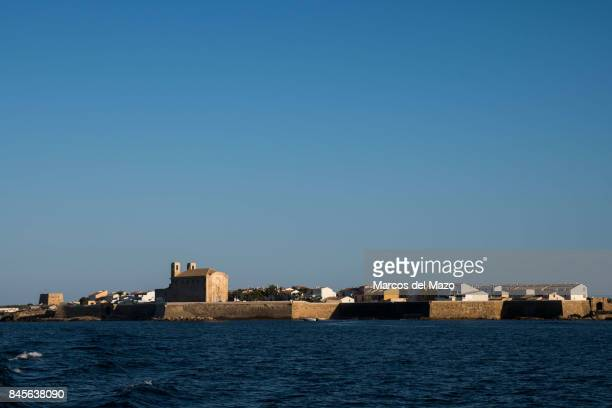View of Tabarca Tabarca is a small islet located in the Mediterranean Sea close to the town of Santa Pola Alicante Tabarca is the smallest...