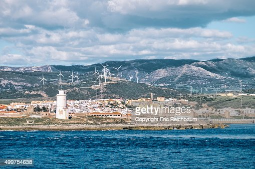 View of Tarifa, Spain from Sea