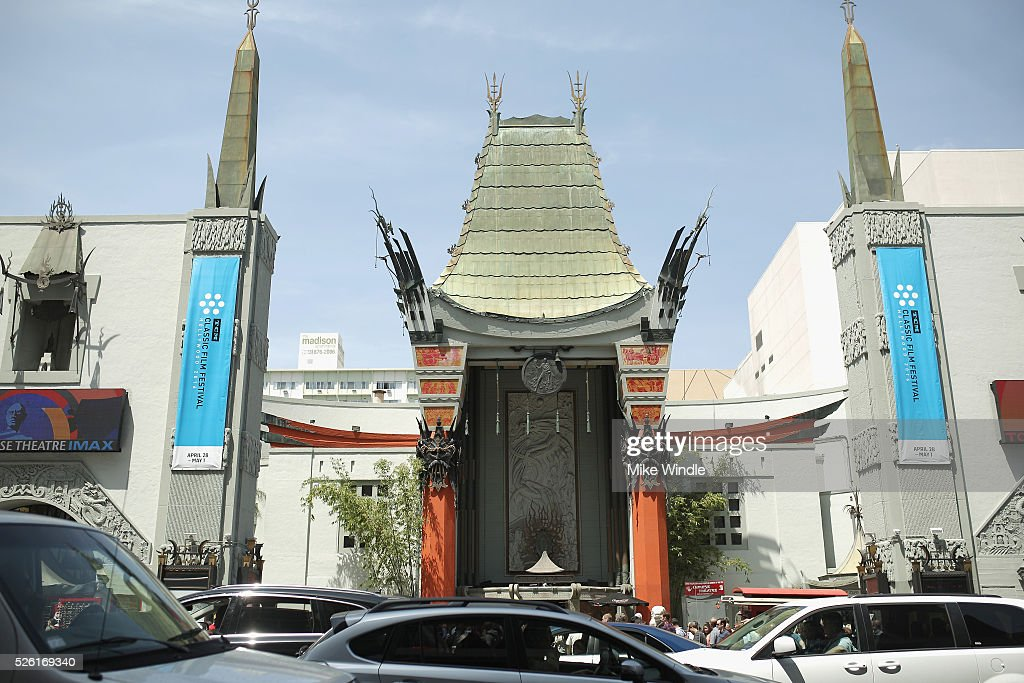 A view of TCL Chinese Theatre is seen during day 2 of the TCM Classic Film Festival 2016 on April 29, 2016 in Los Angeles, California. 25826_008