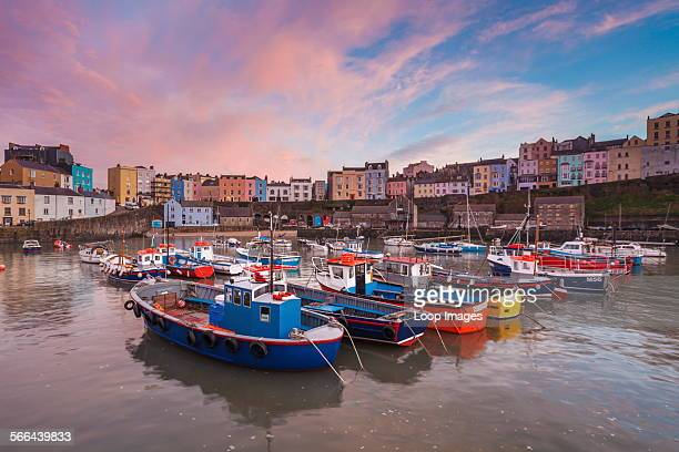 A view of Tenby Harbour in Pembrokeshire