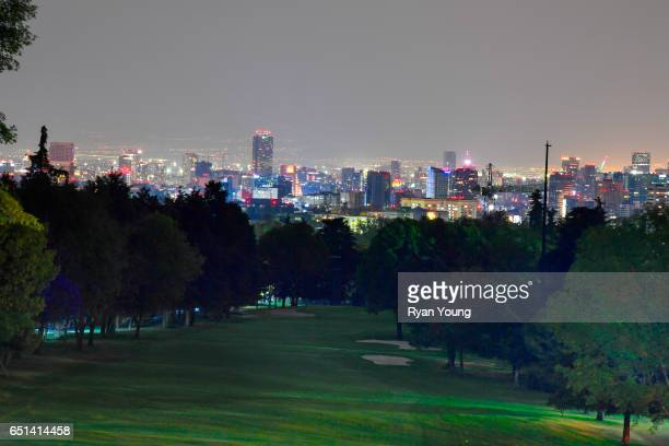 A view of the 10th hole following the final round of the World Golf ChampionshipsMexico Championship at Club de Golf Chapultepec on March 5 2017 in...