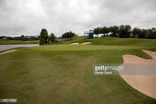 A view of the 11th hole during the HP Byron Nelson Championship at TPC Four Seasons Resort Las Colinas on May 21 2010 in Irving Texas