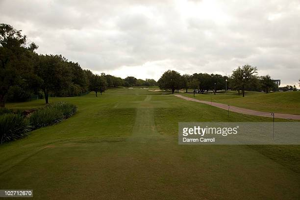 A view of the 12th hole during the HP Byron Nelson Championship at TPC Four Seasons Resort Las Colinas on May 21 2010 in Irving Texas