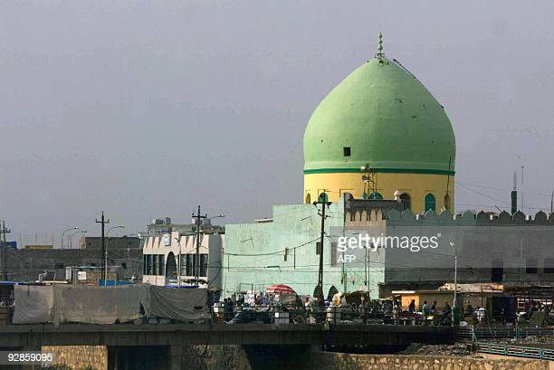 A view of the 150 yearold Sunni Muslim mosque located in the center of the northern oilrich city of Kirkuk 225 kms from Baghdad on November 02 2009...