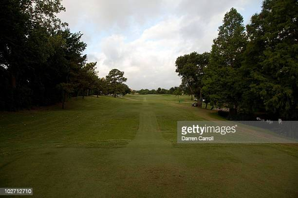 A view of the 15th hole during the HP Byron Nelson Championship at TPC Four Seasons Resort Las Colinas on May 21 2010 in Irving Texas