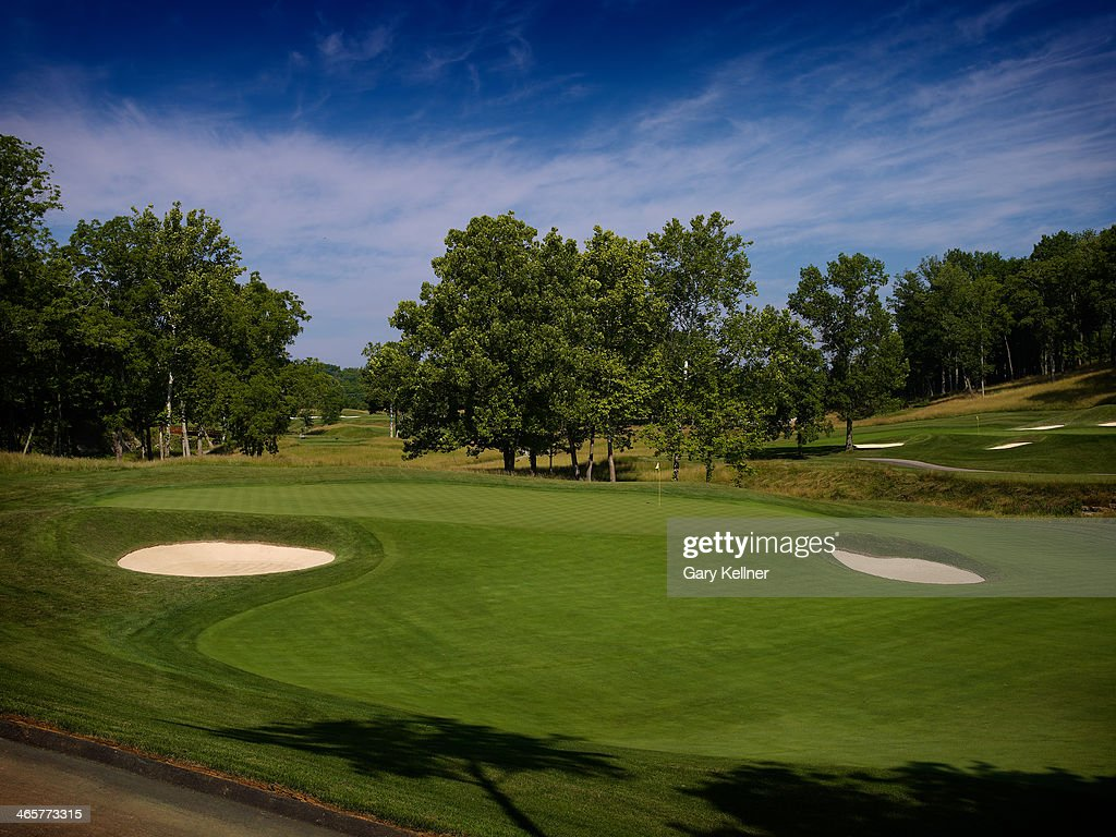A view of the 16th hole at the future site of the 96th PGA Championship at Valhalla Golf Club on October 31 2013 in Louisville Kentucky