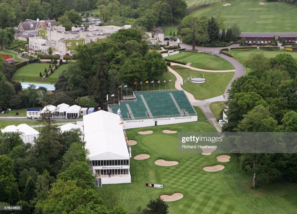 2018 bmw wentworth. modren bmw view of the 18th green on west course at wentworth club home in 2018 bmw wentworth