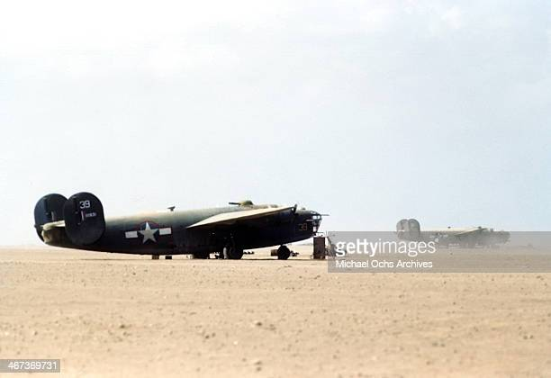 A view of the 376th Bombardment Group B24Liberators at the US Air Force Base in Benghazi Libya