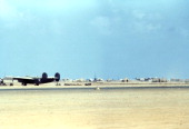 A view of the 376th Bombardment Group flying B24Liberators at the US Air Force Base in Benghazi Libya