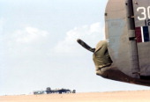 A view of the 376th Bombardment Groups that fly B24Liberators at the US Air Force Base in Benghazi Libya